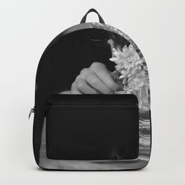 Flower and sea Backpack
