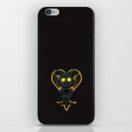 Heartless love iPhone Skin
