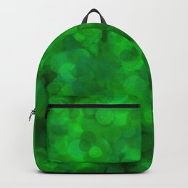 Fresh Bright Moss Green Abstract Backpack