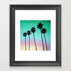 Palm Trees 4 Framed Art Print