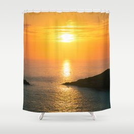 Pontal do Atalaia Sunset Shower Curtain