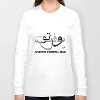 juventus Long Sleeve T-shirts featuring Juventus by Sport_Designs