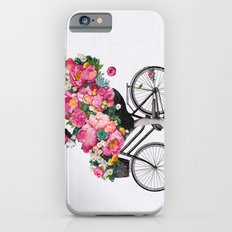 floral bicycle  iPhone 6s Slim Case