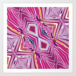 Pink Caliente Art Print