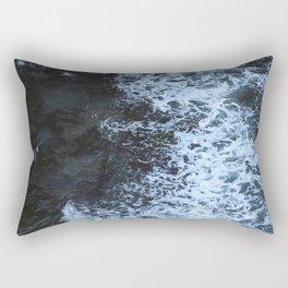 Rushing Sea Rectangular Pillow