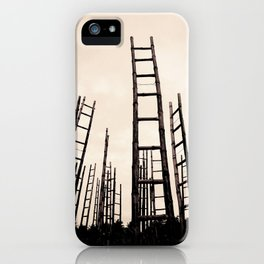 Journeying with Dante and Virgil in a forest of possible opportunities iPhone Case