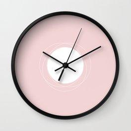 Minimalistic Pink Series II #minimal #minimalistic #kirovair #buyart #design Wall Clock