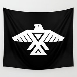 Thunderbird flag - HQ file Inverse Wall Tapestry