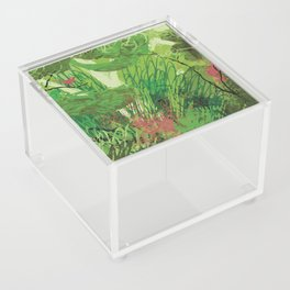 Spring Bird in a Tree Acrylic Box