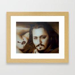 'Depp II' Framed Art Print