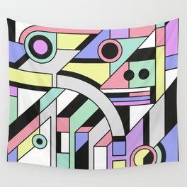 De Stijl Abstract Geometric Artwork Wall Tapestry
