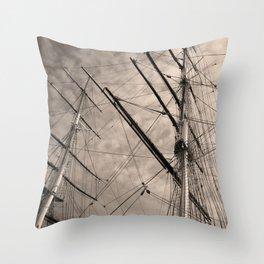 Cutty Sark Throw Pillow