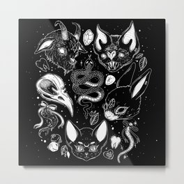 FAMILIAR SPIRITS Metal Print