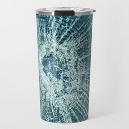 Shattered glass Travel Mug