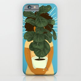 Plant Momma iPhone Case