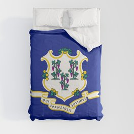 State Flag of Connecticut Comforters