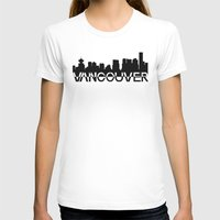 vancouver T-shirts featuring Vancouver  by Allison Kiloh