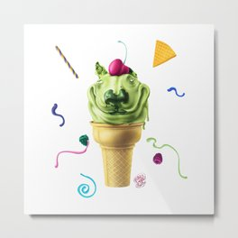 Bully Summer Flavour Metal Print