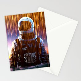 Astronaut in the Clouds Stationery Cards