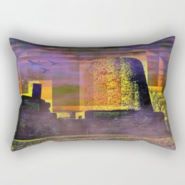 Castle-Art Rectangular Pillow