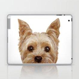 Yorkshire Terrier original painting print Laptop & iPad Skin