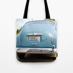 Plymouth blue Tote Bag