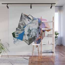 Mountain Cubism Wall Mural