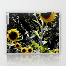 Sun Flowers Laptop & iPad Skin