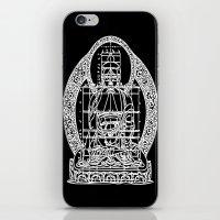 sacred geometry iPhone & iPod Skins featuring Sacred Geometry by Hazel Bellhop
