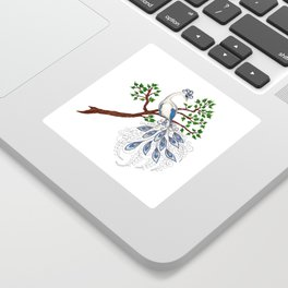 The Moonlark Sticker