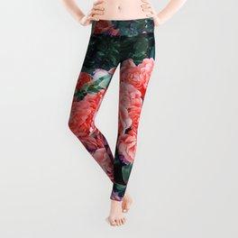 Psychedelic summer florals Leggings