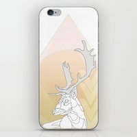 antlers iPhone & iPod Skins featuring Antlers by Heidi Banford