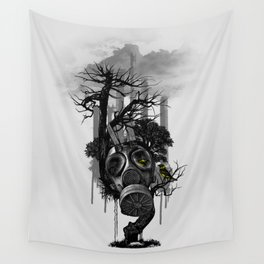 DIRTY WEATHER Wall Tapestry