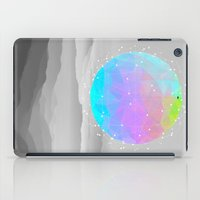 sagan iPad Cases featuring Worlds That Never Were (Geodesic Moon) by soaring anchor designs
