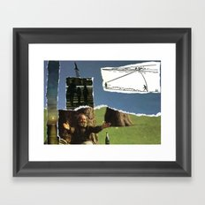 Sometimes You Have To Embrace It, Before It's Too Late Framed Art Print