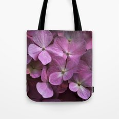 Pink hydrangea Tote Bag