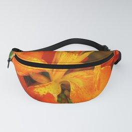 orange burst Fanny Pack