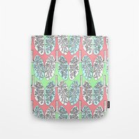 lungs Tote Bags featuring Lungs by Charlotte Goodman