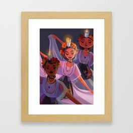 La Bruja Framed Art Print