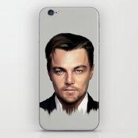 leonardo dicaprio iPhone & iPod Skins featuring Leonardo DiCaprio by modia