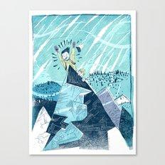 Summit Excitement! Canvas Print
