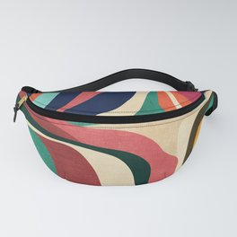 Impossible contour map Fanny Pack