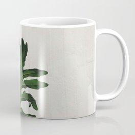 Woman with a banana leaf Coffee Mug