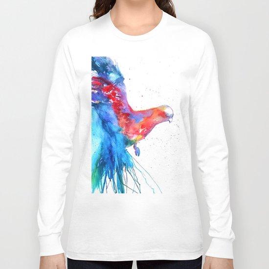 Flying Parrot Long Sleeve T-shirt