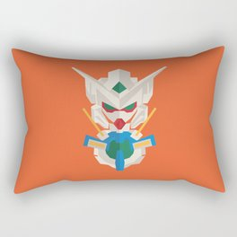 gundam exia flat design Rectangular Pillow