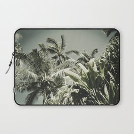 Kuau Hawaii Tropical Palms Sea Green Paia Maui Laptop Sleeve