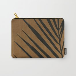 Palm plant tiger print Carry-All Pouch