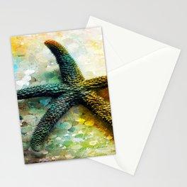 Starfish Impression Stationery Cards