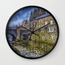 Beddgelert Village Wall Clock
