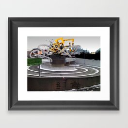 """QBIX"" Framed Art Print"
